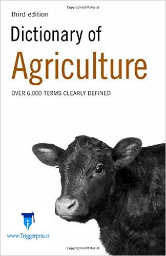 دانلود دیکشنری تخصصی کشاورزی Dictionary of Agriculture