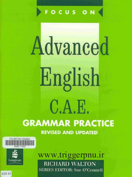 دانلود کتاب گرامر امتحان  Focus on CAE Grammar Practice CAE