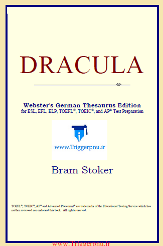 دانلود کتاب DRACULA :Webster's German Thesaurus Edition