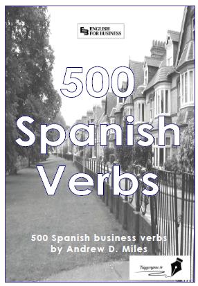 دانلود کتاب آموزش زبان اسپانیایی ۵۰۰ فعل اسپانیایی به انگلیسی ۵۰۰ verbos Spanish to English