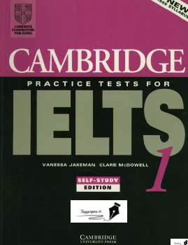 دانلود کتاب Cambridge Practice Tests for IELTS 1