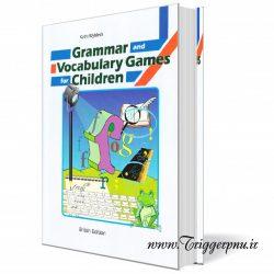 کتاب بازی های گرامری و واژگان برای کودکان Grammar and Vocabulary Games for Children