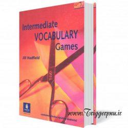 کتاب بازیهای واژگان سطح متوسط  Intermediate Vocabulary Games