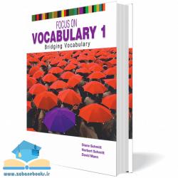 کتاب آموزش واژگان Focus on Vocabulary 1