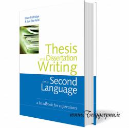 کتاب Thesis and Dissertation Writing in a Second Language