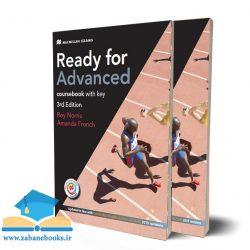 "<span itemprop=""name"">مجموعه آمادگی آزمون زبان انگلیسی سی ای ای کمبریج Ready for Advanced</span>"