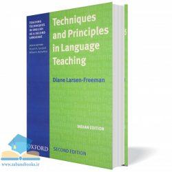"<span itemprop=""name"">کتاب آموزش روش تدریس لارسن ویرایش دوم Techniques and Principles in Language Teaching</span>"
