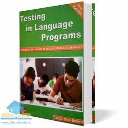 """<span itemprop=""""name"""">کتاب Testing in Language Programs</span>"""
